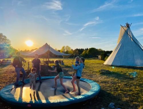 Unieke camping De Wereld